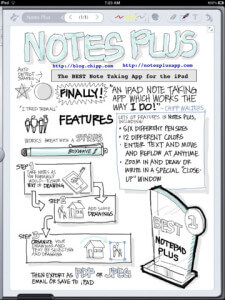 Notes Plus 225x300 Seven Most Useful Writing Apps for Authors