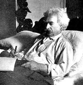 Twain 293x300 Unusual Work Habits of Great Writers