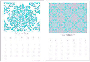 free printabel 2014 chic desktop calendar The Creativity Exchange Nov. Dec. Seven Calendar Opportunities to Leverage Your Author Marketing