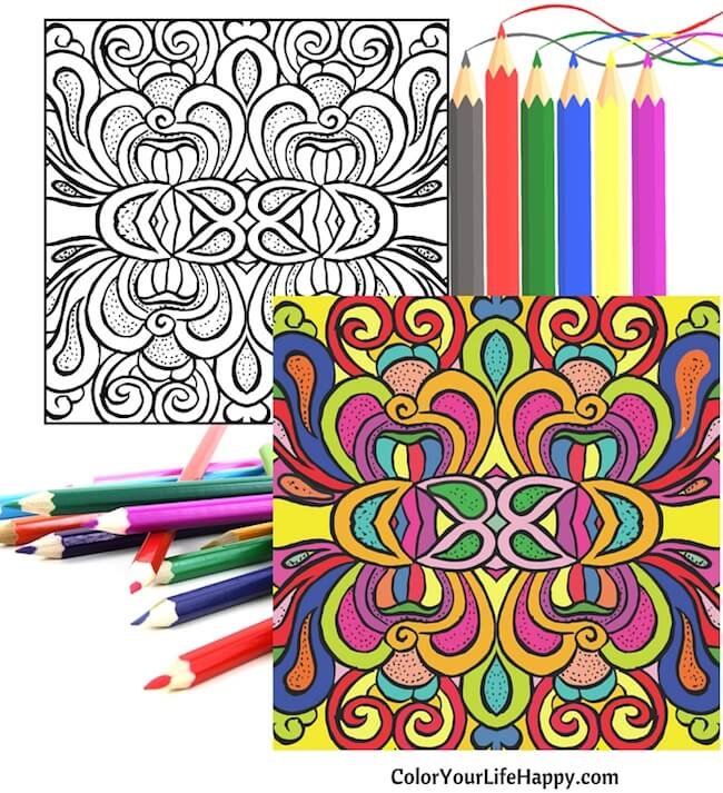 Authors Creating Coloring Books For Adults Draw Comfort And