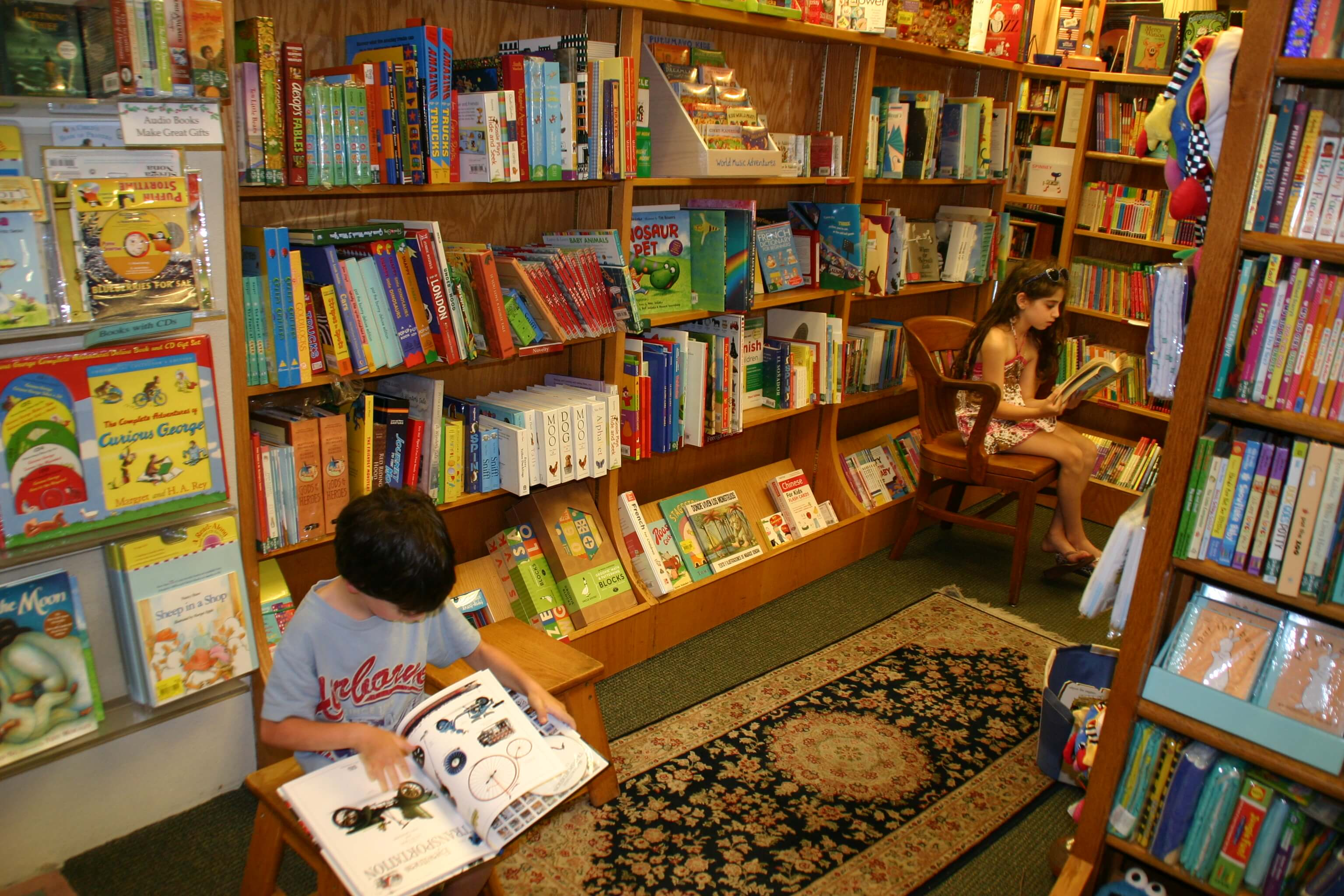Take Your Child To A Bookstore Day This Saturday