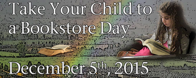 Take Your Child to a Bookstore Day – This Saturday, December 5th
