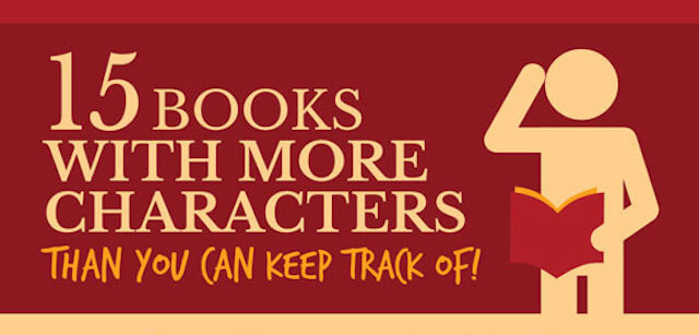 Think Your Book Has Too Many Characters? Think Again!